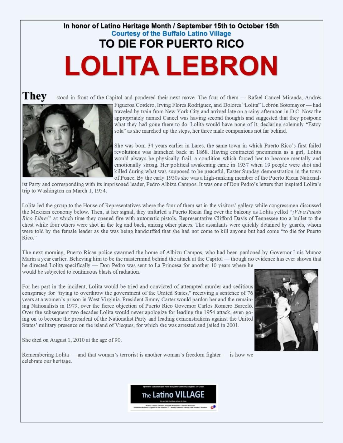 Lolita Lebron