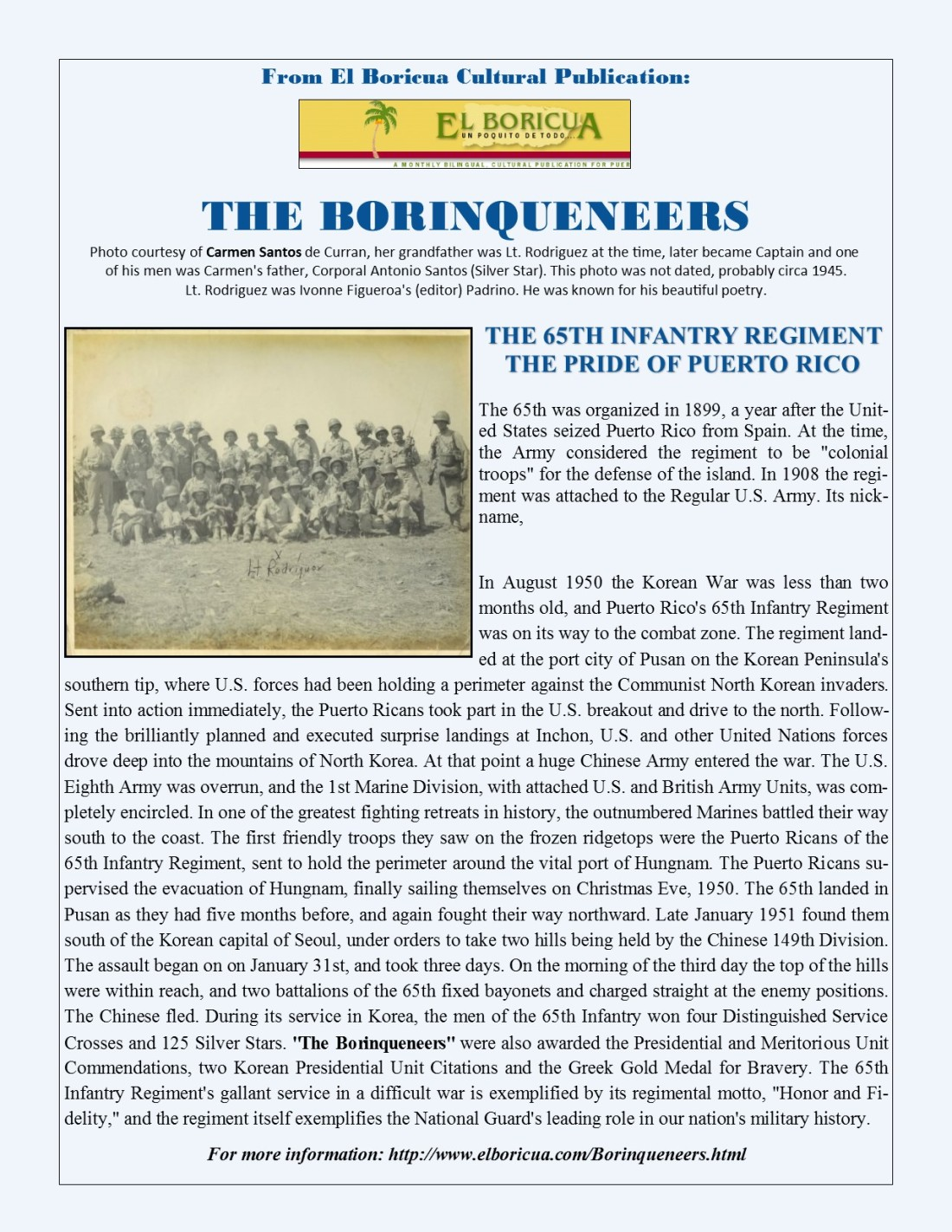The Boriqueneers