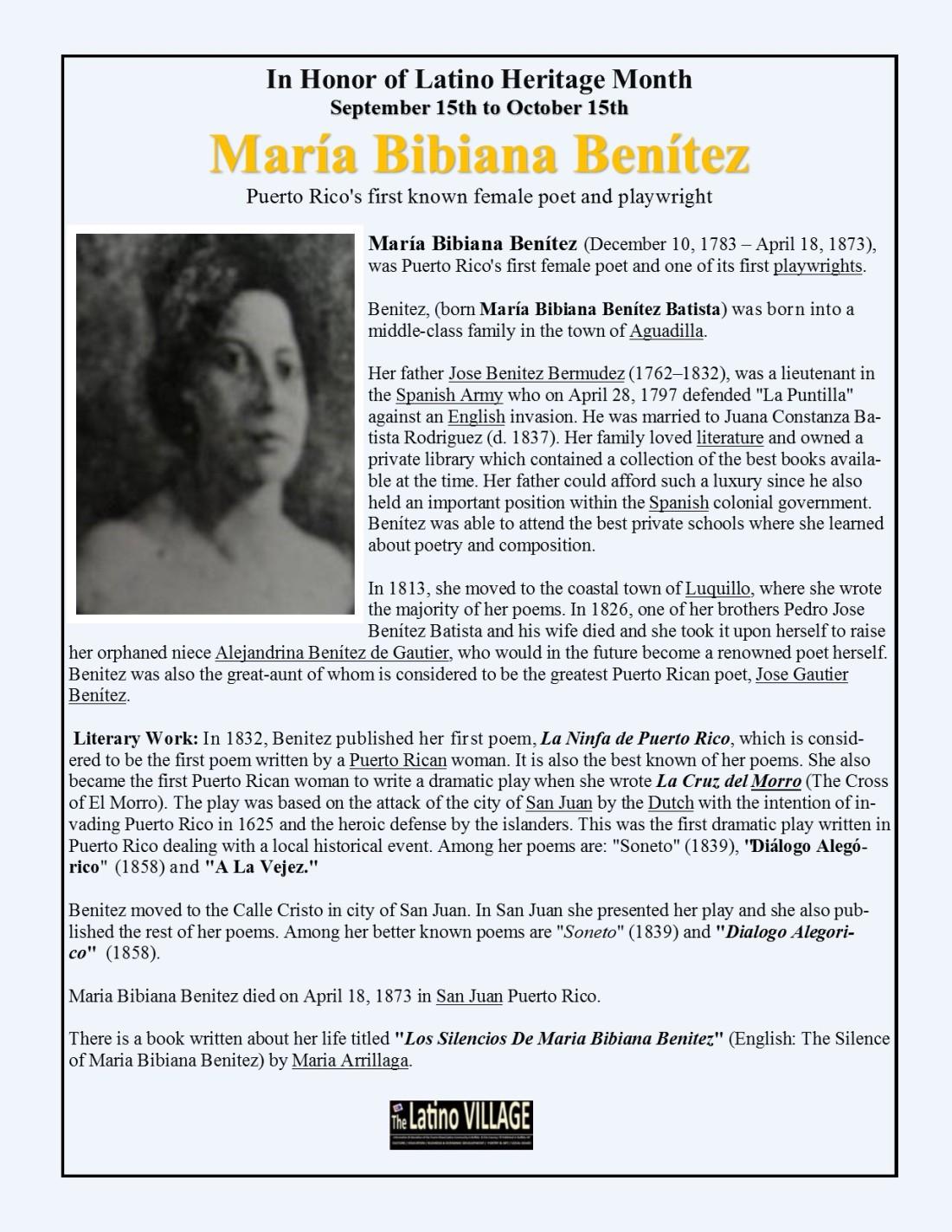 María Bibiana Benítez