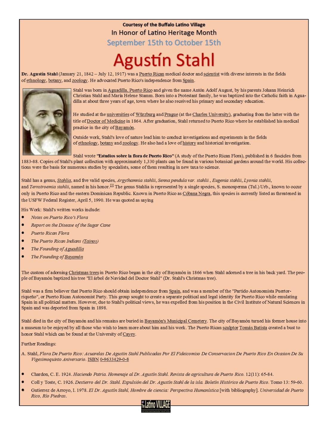 Agustin Stahl