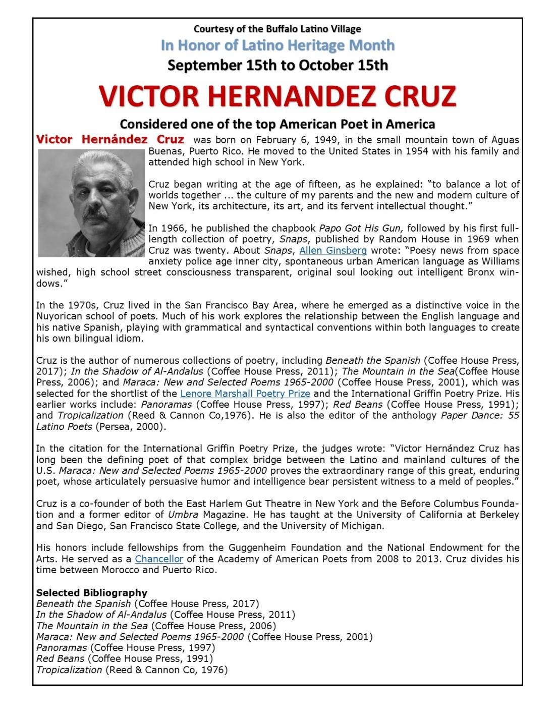 Puerto Rican Poet