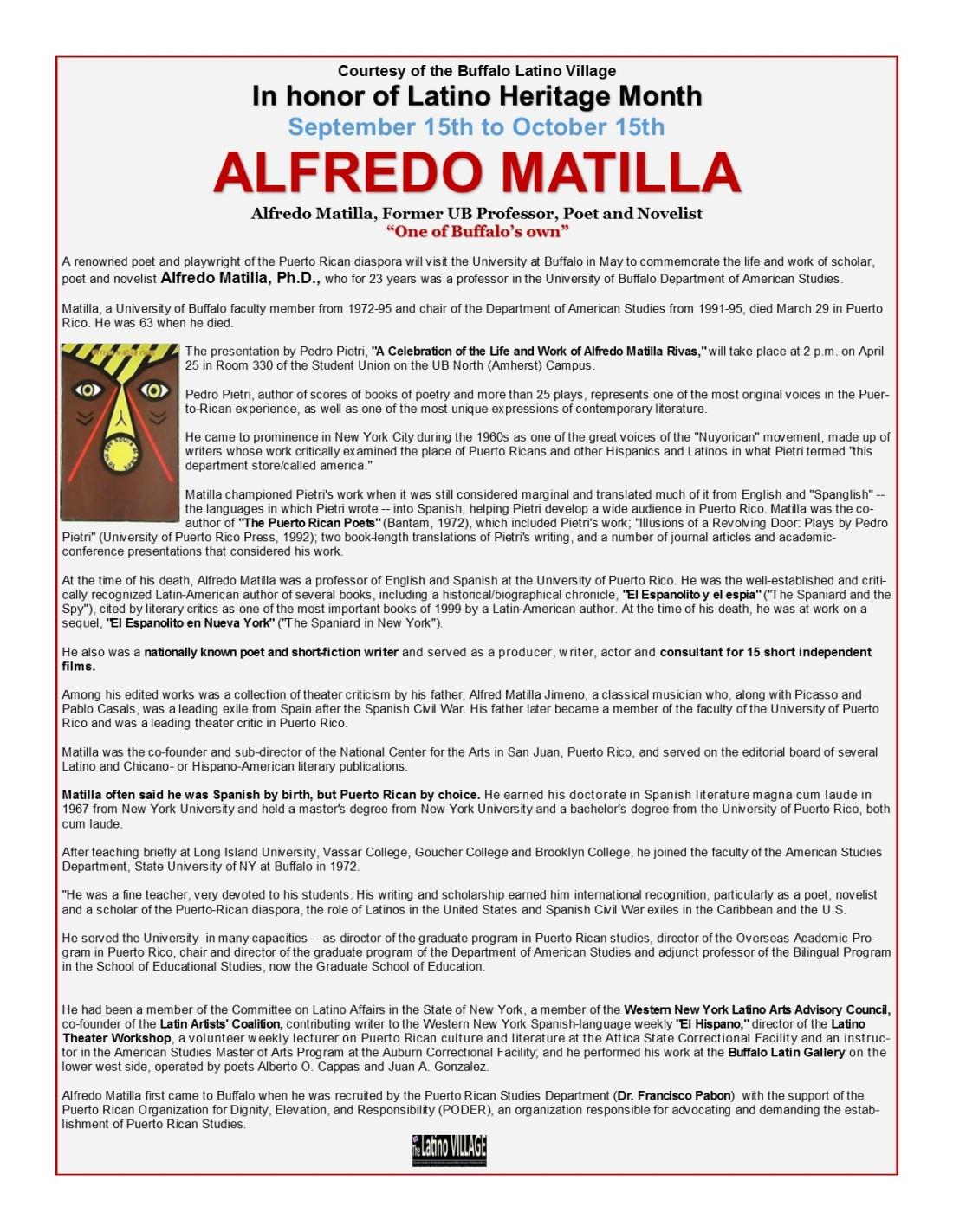 Alfredo Matilla