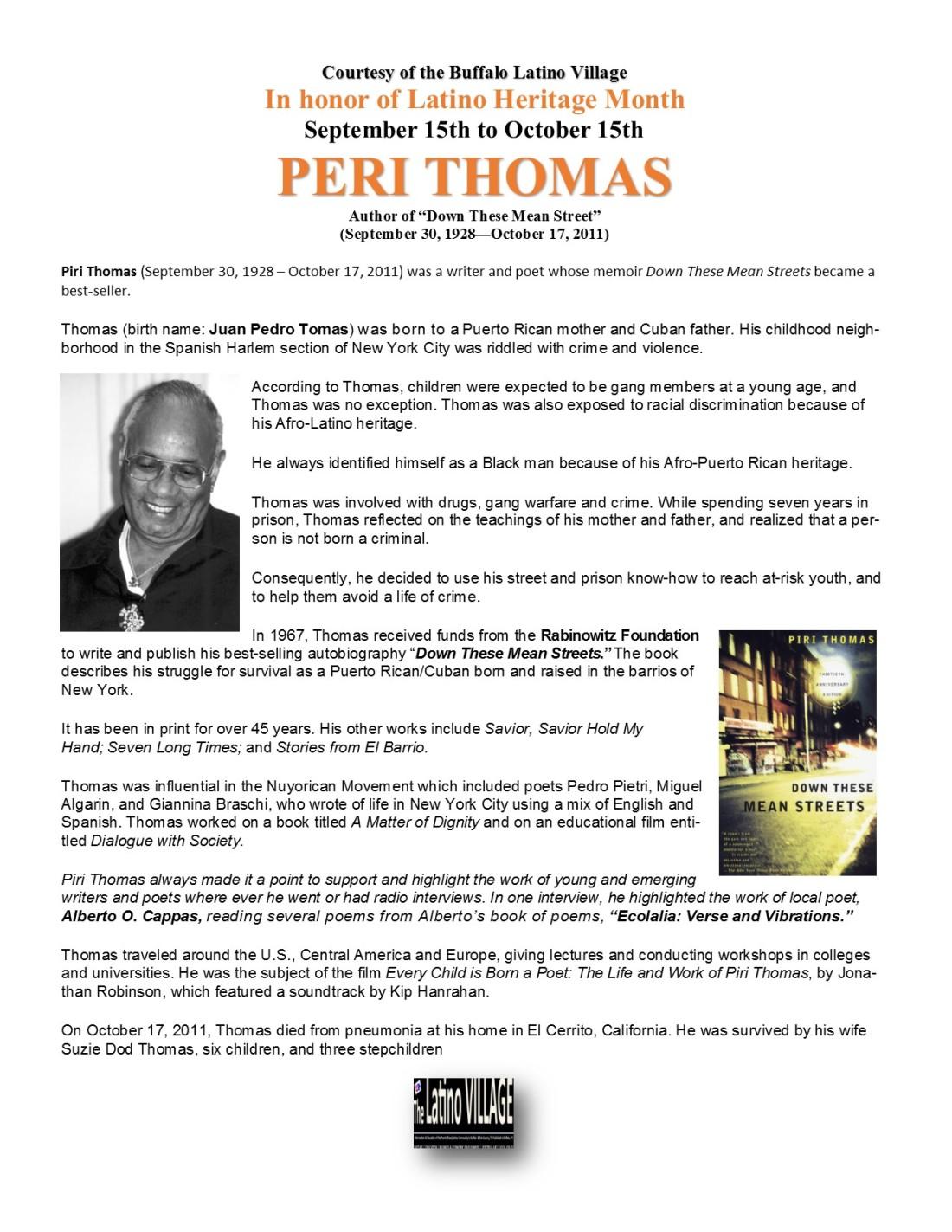 Piri Thomas