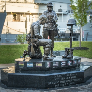 Latino Veterans Monument, Buffalo, NY