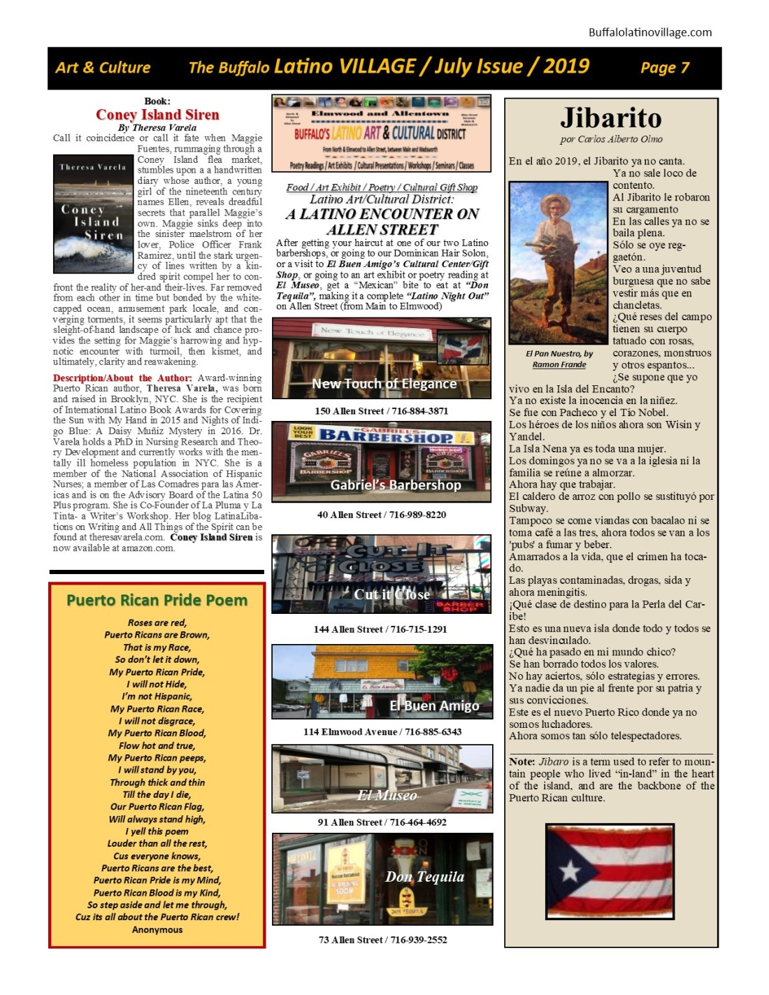 Page 7 July Issue Volume 3 Number 21, 2019
