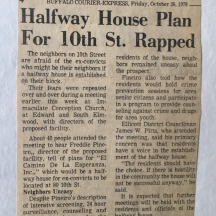 Half Way House on 10th Street a blast from the past