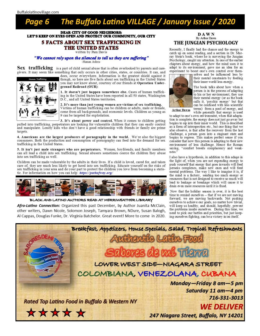 Page 6 January Issue Volume 4 Number 27 - 2020