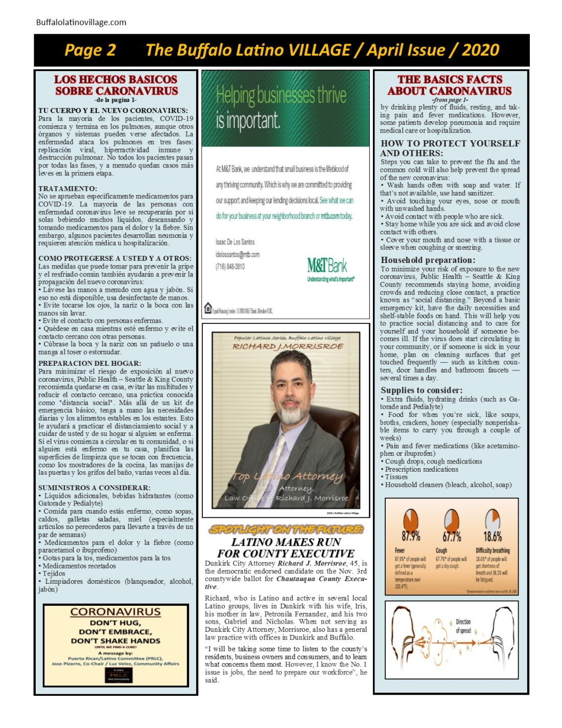 April 2020 Issue Page 2