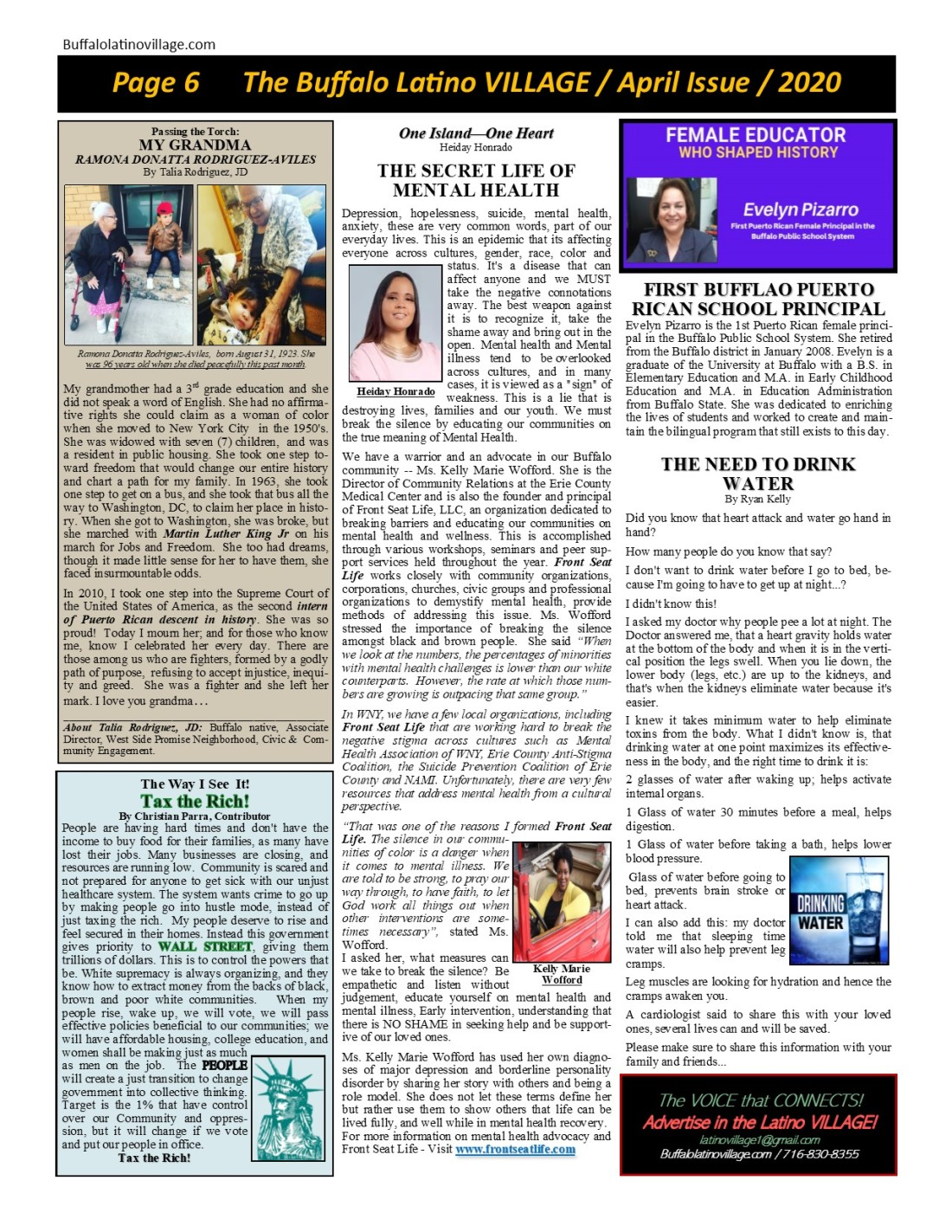 Page 6 April 2020 Issue