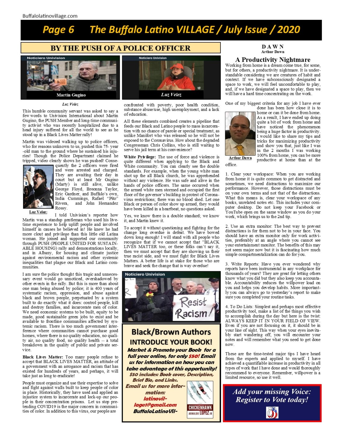 July 2020 Page 6