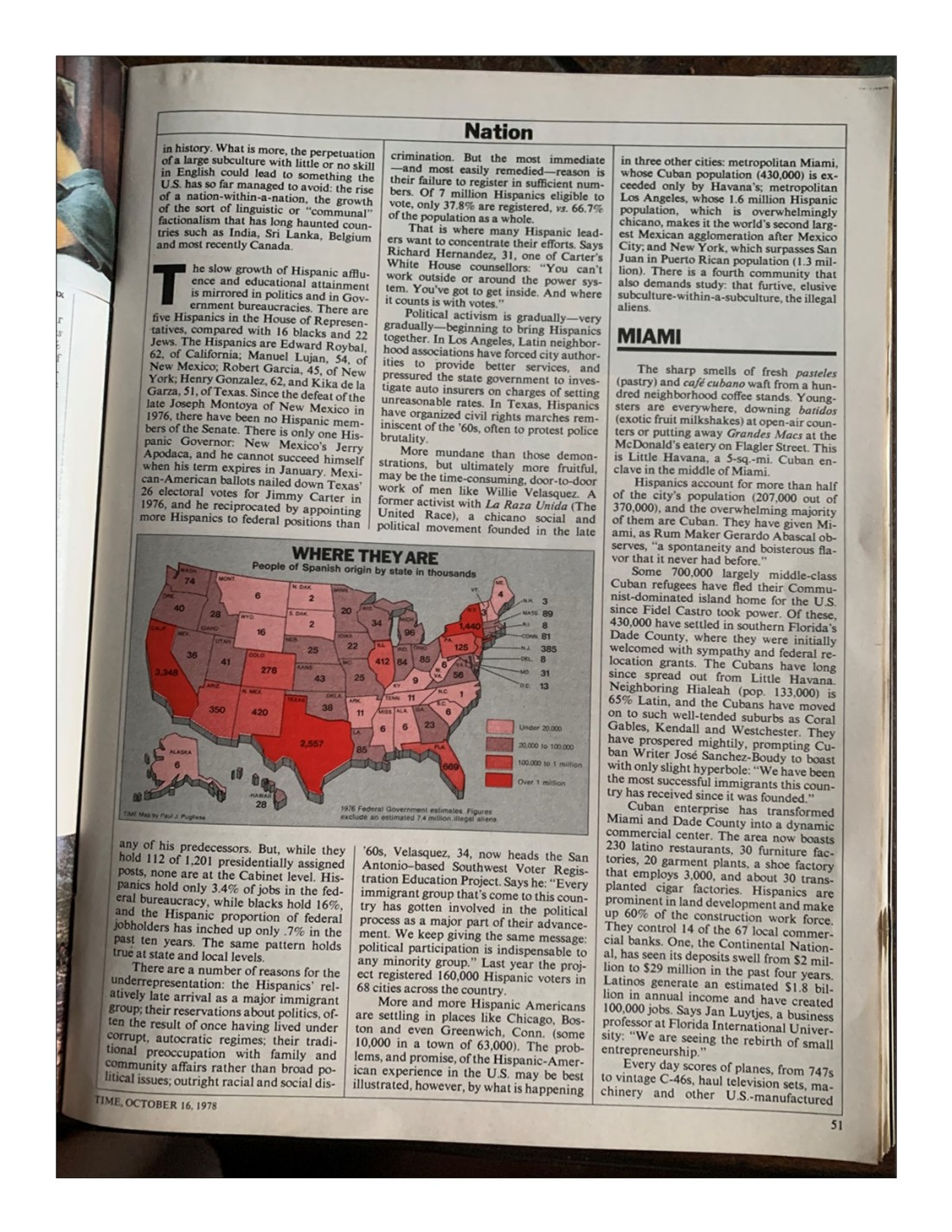 Time Magazine October 16 1978 Page 5