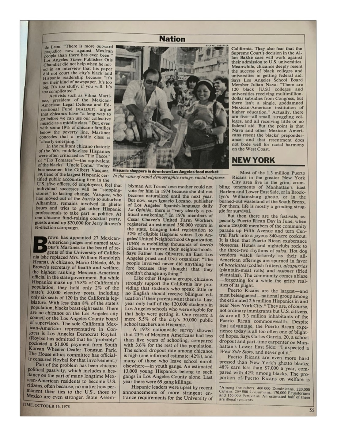 Time Magazine October 16 1978 Page 7